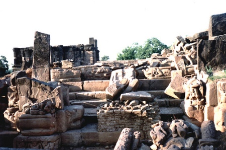Jethani Temple Ruins at Talagaon
